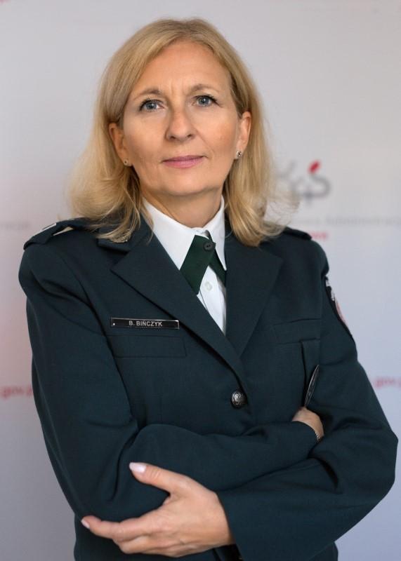 Oficer prasowy Beata Bińczyk